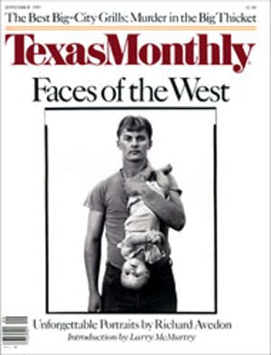 Cover of Texas Monthly September 1985