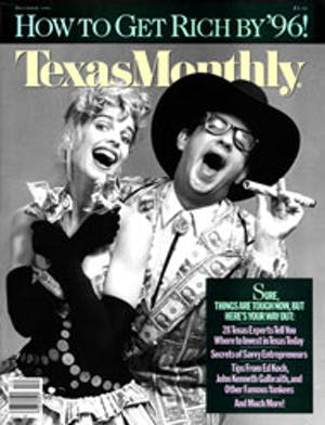 Cover of Texas Monthly December 1986