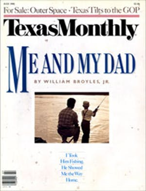 Cover of Texas Monthly July 1986