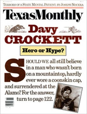 Cover of Texas Monthly November 1986