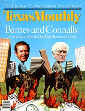 Cover of Texas Monthly October 1986