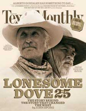 Cover of Texas Monthly July 2010
