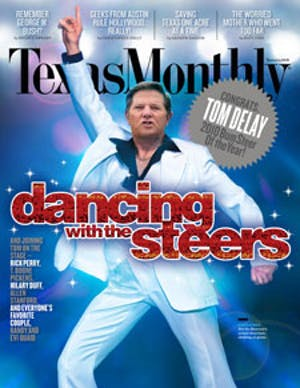 Cover of Texas Monthly January 2010