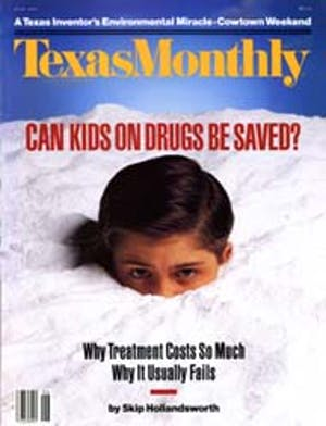 Cover of Texas Monthly June 1990