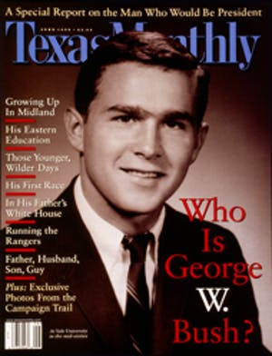 Cover of Texas Monthly June 1999