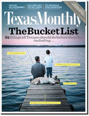 Cover of Texas Monthly March 2010