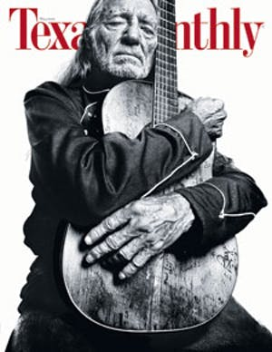 Cover of Texas Monthly May 2008