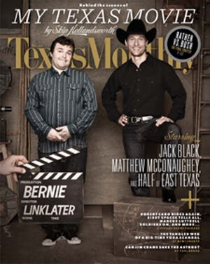 Cover of Texas Monthly May 2012