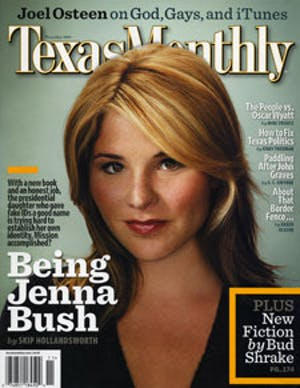 Cover of Texas Monthly November 2007