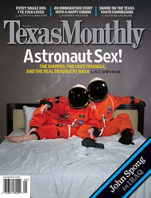 Cover of Texas Monthly May 2007