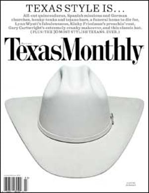 Cover of Texas Monthly March 2009