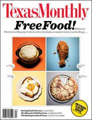 Cover of Texas Monthly April 2009