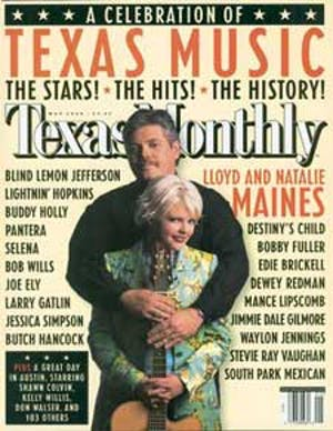 Cover of Texas Monthly May 2000