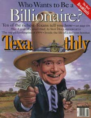Cover of Texas Monthly February 2000