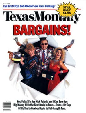 Cover of Texas Monthly July 1988