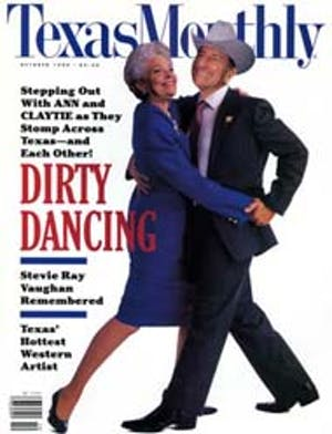 Cover of Texas Monthly October 1990
