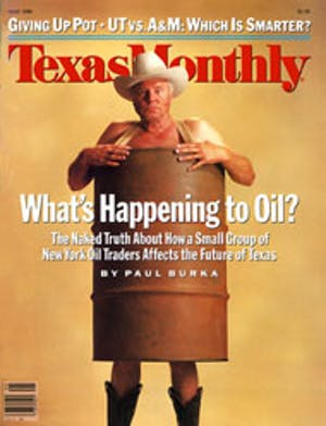 Cover of Texas Monthly May 1986