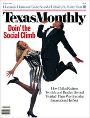 Cover of Texas Monthly March 1986