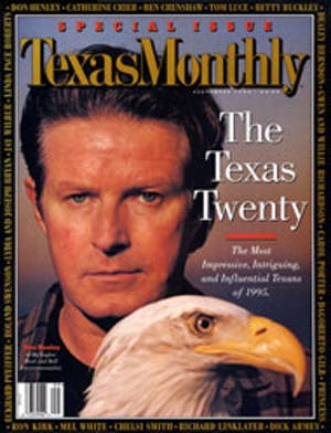 Cover of Texas Monthly September 1995
