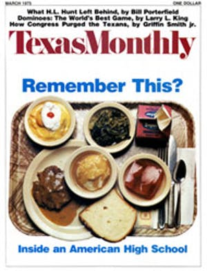 Cover of Texas Monthly March 1975