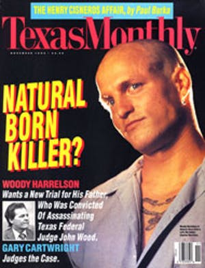 Cover of Texas Monthly November 1994