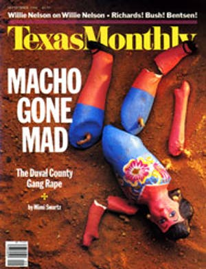 Cover of Texas Monthly September 1988