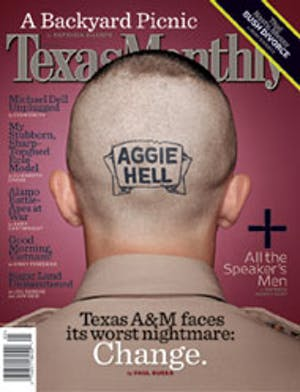 Cover of Texas Monthly May 2004