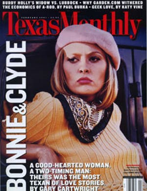 Cover of Texas Monthly February 2001