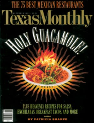 Cover of Texas Monthly November 1999