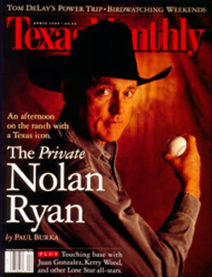 Cover of Texas Monthly April 1999