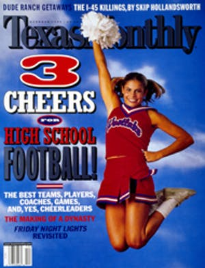 Cover of Texas Monthly October 1999