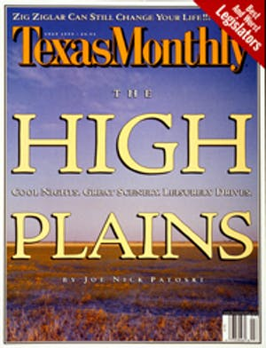 Cover of Texas Monthly July 1999