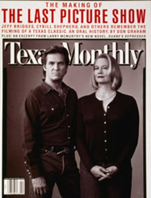 Cover of Texas Monthly February 1999