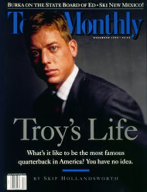 Cover of Texas Monthly December 1998