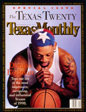 Cover of Texas Monthly September 1998