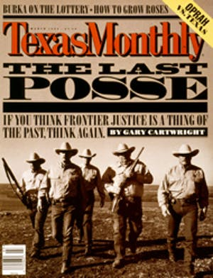 Cover of Texas Monthly March 1998