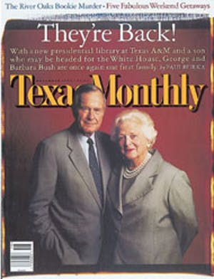 Cover of Texas Monthly November 1997