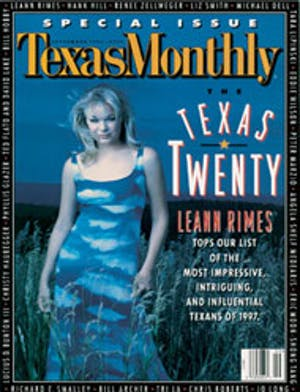 Cover of Texas Monthly September 1997