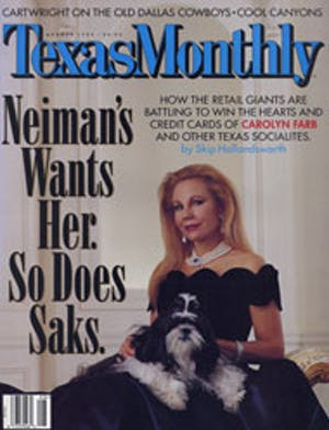 Cover of Texas Monthly August 1997