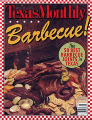 Cover of Texas Monthly May 1997