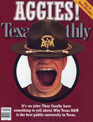 Cover of Texas Monthly April 1997