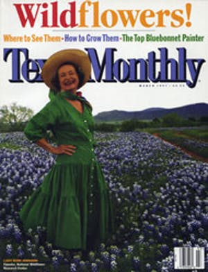 Cover of Texas Monthly March 1997