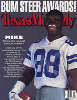 Cover of Texas Monthly January 1997