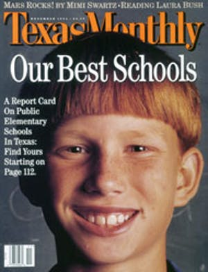 Cover of Texas Monthly November 1996