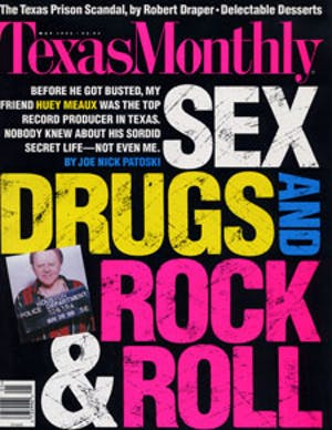 Cover of Texas Monthly May 1996