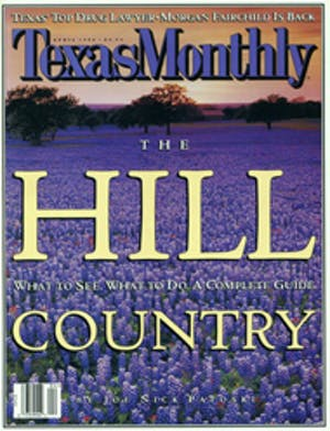 Cover of Texas Monthly April 1996