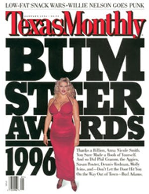 Cover of Texas Monthly January 1996