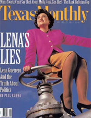 Cover of Texas Monthly November 1992
