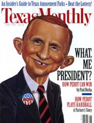 Cover of Texas Monthly June 1992