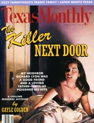 Cover of Texas Monthly April 1992